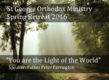 St George Orthodox Ministry Retreat – Register