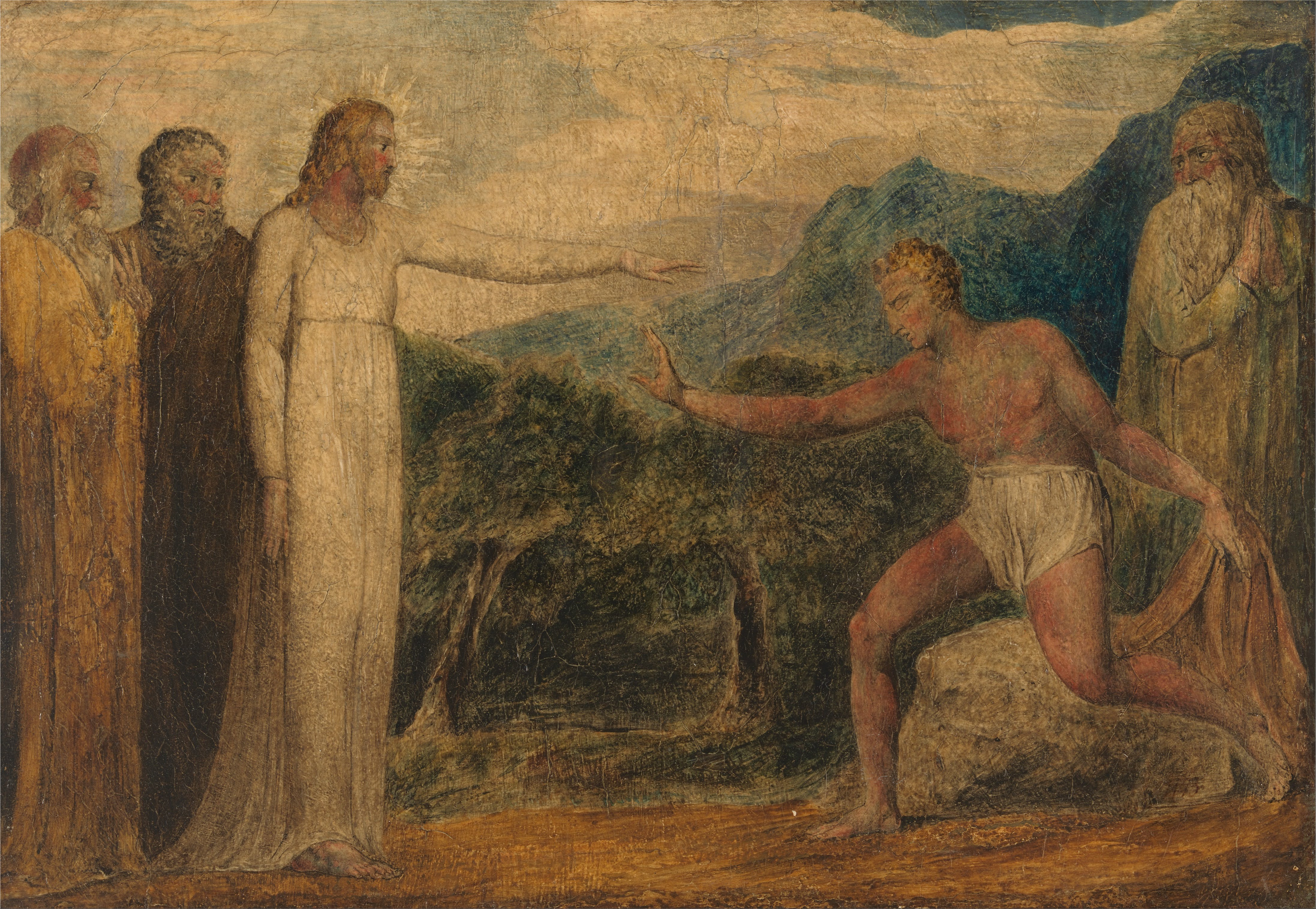 15-10-25-Christ-Giving-Sight-to-Bartimaeus