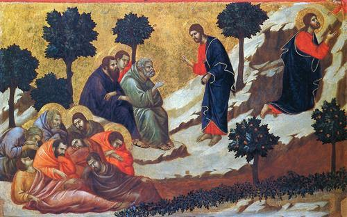 What happened in Gethsemane?